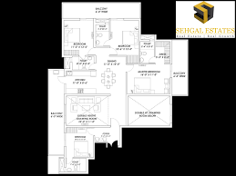 dlf new town heights floor plan supertech hill town