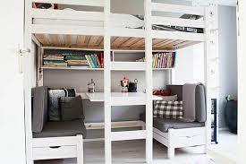 lit mezzanine bureau blanc lit mezzanine blanc le et bureau plus d espace archzine fr