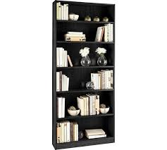 Bookcase Wide Buy Home Maine 5 Shelf Tall Wide Bookcase Black Ash At Argos Co