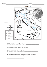 Resources Free Printable Worksheets Italy Worksheet By Simon H Teaching Resources Tes
