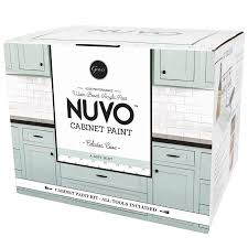 is nuvo cabinet paint giani nuvo cabinet satin cabinet celadon cove interior paint kit