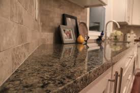 granite countertop chocolate glaze kitchen cabinets pic of