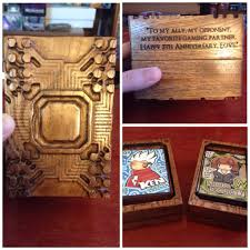 My Cool My Wife Had A Cool Netrunner Inspired Deck Box Made For My