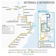 Mia Terminal Map Transit Map Redesigns Transit Oriented Design