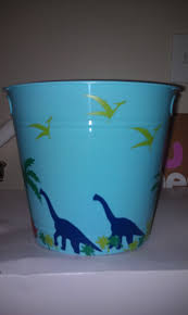 dinosaur easter basket bucket good for boys i love you easter