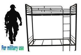 Best Price Military Style Metal Steel Furniture Cheap Dorm Bunk - Heavy duty metal bunk beds