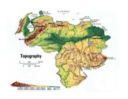 Topographic Map Usa by South America Detailed Topographical Map Detailed Topographical