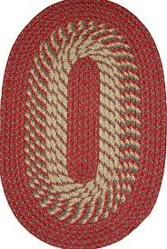 braided rug plymouth 5 x 8 braided rug in barn kitchen dining