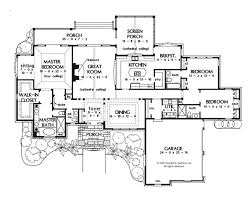 large kitchen house plans a one story house plan master bedroom with sitting