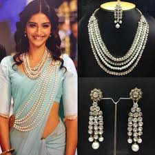 fashion pearls necklace images 102 best indian jewelry images jewel hairstyle and jpg