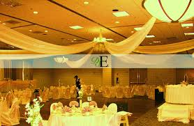Chiffon Ceiling Draping Custom Wedding Decor Decoratively Speaking Events