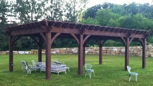 Shade For Pergola by Plan For A 16 U0027 X 32 U0027 Oversize Timber Frame Diy Pergola Western
