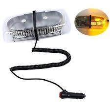 magnetic base strobe light oval 12v 240 led emergency hazard warning mini bar strobe light