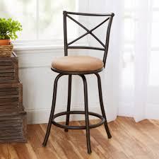 bar stools mainstays inch swivel bar stools with back round seat