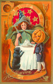 Printable Halloween Cards by 654 Best Halloween Vintage Cards 1 Images On Pinterest Vintage