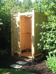 Outdoor Shower Enclosure Camping - best 25 outdoor shower kits ideas on pinterest shower kits