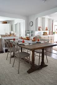 fall dining room decorating made easy hollow cottage