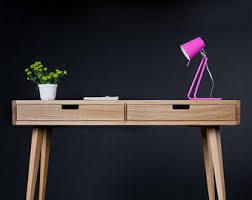 Small Wooden Writing Desk Desks Etsy