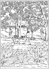 1320 creative haven coloring pages dover images