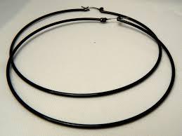 black hoop earrings black hoop earrings