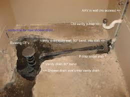 basement shower drain basement inspiring