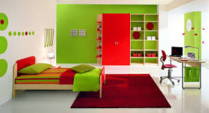 It Is Very Great To Give Your Kids A Room With Very Fresh Green - Green color bedroom