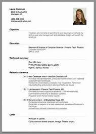exle of simple resume resume template for internship pointrobertsvacationrentals