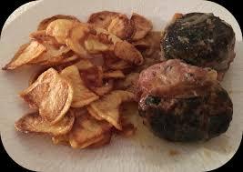 cuisiner des crepinettes crépinettes de porc et frites maison un delice à la