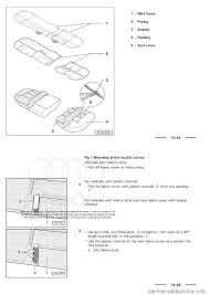 audi a3 2003 8l 1 g general body assembly interior workshop manual