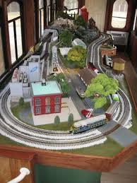 trains for train table custom built o scale model train layout model railroad layout lionel