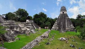 ancient tikal mayan ruins mexico architecture high resolution for