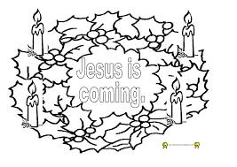 christmas wreath coloring page eliolera com