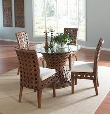 chairs awesome rattan dining room chairs dining room rattan