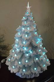 stylish design ceramic christmas trees tree lights bulbs ornaments
