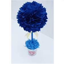 blue centerpieces royal blue centerpiece graduation party centerpiece