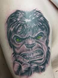 hulk tattoo by ganesaishaya on deviantart