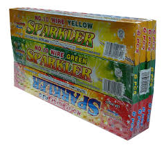 10 wire color sparkler legend