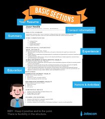 Best New Font For Resume by Resume Templates Guide Jobscan
