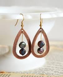wire earrings iridescent drop diy wire earrings allfreejewelrymaking