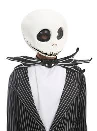 Jack Pumpkin King Halloween Costume Nightmare Christmas Jack Skellington Deluxe Costume