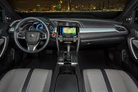 Honda Civic India Interior 2016 Honda Civic Coupe First Test Review Motor Trend