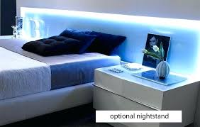 platform bed with led lights modern platform bed with lights or impressive platform bed with