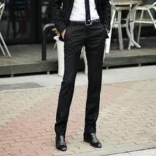 Comfortable Work Pants Formal Man Trouser Casual Men U0027s Pant Korean Slim Trousers Iron