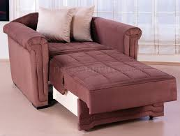 Pull Out Chair Microfiber Contemporary Pull Out Bed Loveseat