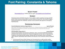 Professional Fonts For Resume 9 Resume Fonts Designers Love