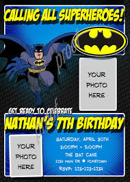 batman birthday invitations diy tags how to make batman birthday