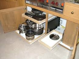 Sliding Shelves Are Excellent For Small Kitchen  Home Decorations - Kitchen cabinets pull out shelves