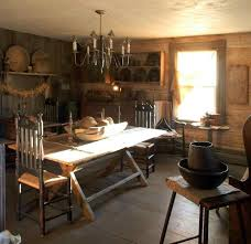 Primitive Dining Room Tables 149 Best Primitive Early Rooms Images On Pinterest Primitive