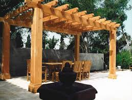 Building A Freestanding Pergola by Arbor Trellis And Pergolas