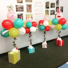 balloon arrangements 65 best no helium needed balloon arrangements images on